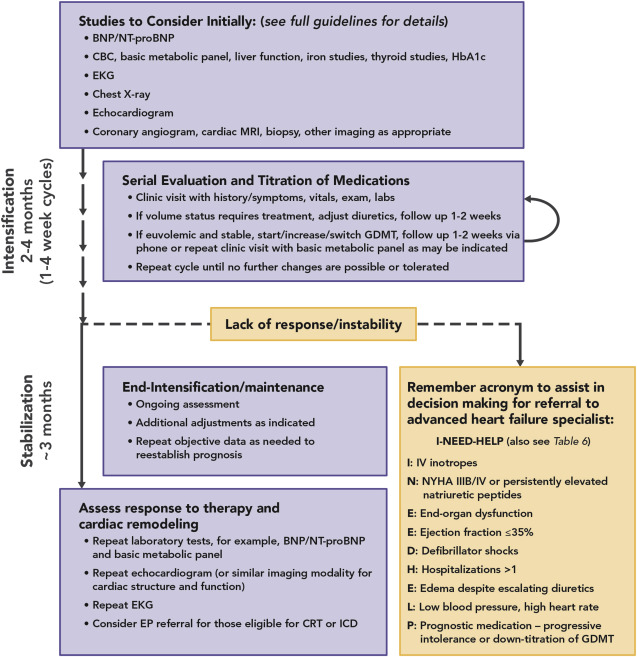 2017 acc expert consensus decision pathway for optimization of heart